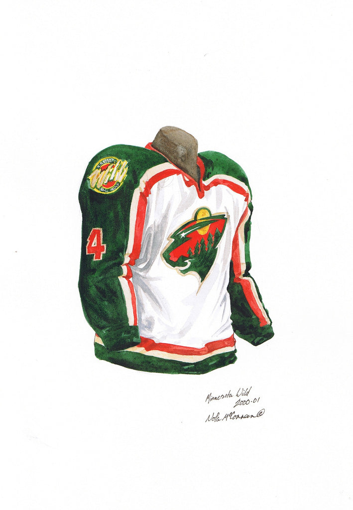 finest selection 2329c 06707 Minnesota Wild 2000-01
