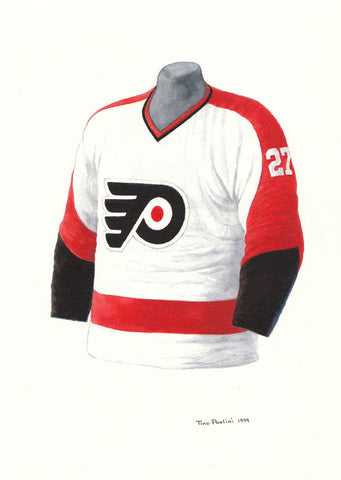 Philadelphia Flyers 1967-68 - Heritage Sports Art - original watercolor artwork - 1