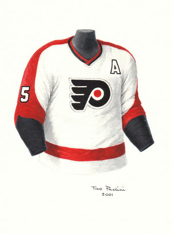 Philadelphia Flyers 1973-74 - Heritage Sports Art - original watercolor artwork - 1