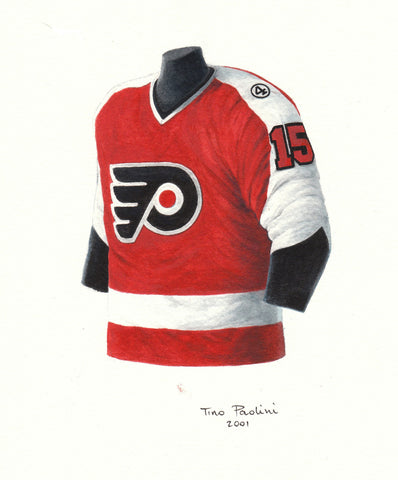Philadelphia Flyers 1977-78 - Heritage Sports Art - original watercolor artwork - 1