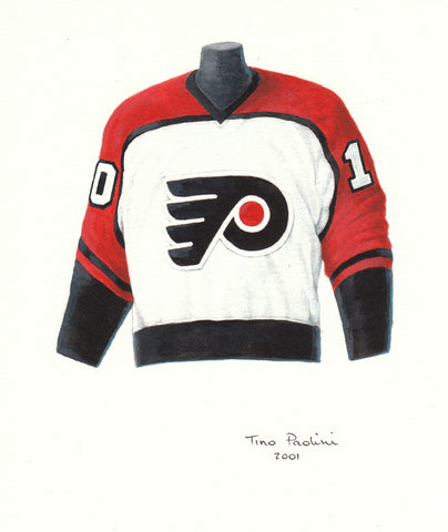 Philadelphia Flyers 1981-82 - Heritage Sports Art - original watercolor artwork - 1