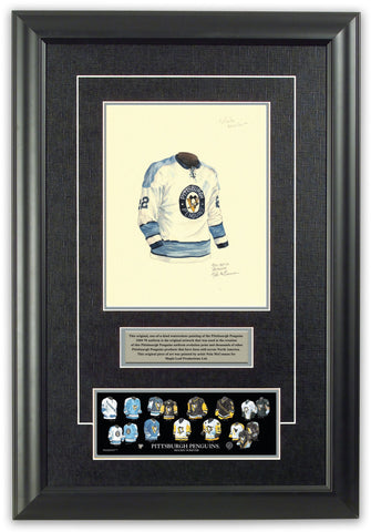 Pittsburgh Penguins 1969-70 - Heritage Sports Art - original watercolor artwork - 1