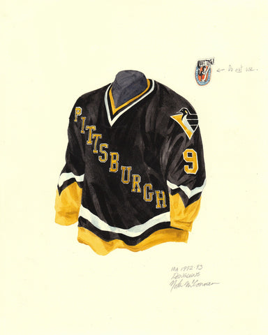 Pittsburgh Penguins 1992-93 - Heritage Sports Art - original watercolor artwork - 1