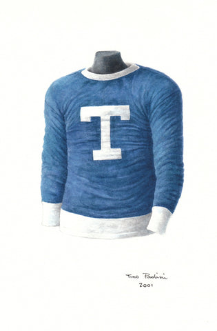 Toronto Maple Leafs 1917-18 - Heritage Sports Art - original watercolor artwork - 1