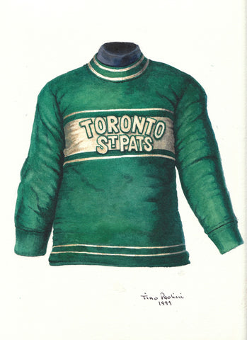 Toronto Maple Leafs 1926-27 - Heritage Sports Art - original watercolor artwork - 1