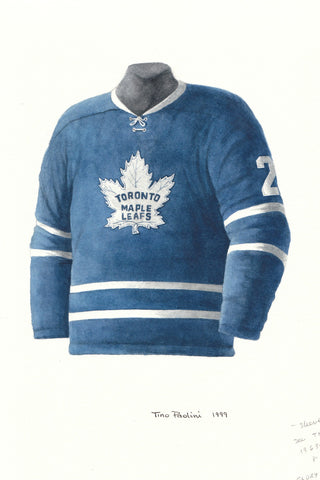 Toronto Maple Leafs 1962-63 - Heritage Sports Art - original watercolor artwork - 1