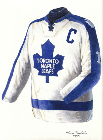 Toronto Maple Leafs 1973-74 - Heritage Sports Art - original watercolor artwork - 1