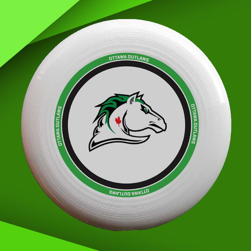 Outlaws Green Ring Disc