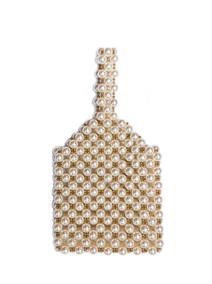 Riri Pearl Beaded Bag
