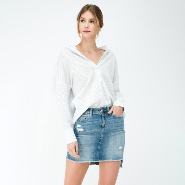 Long Sleeve Relaxed Shirts - Fashion eNation