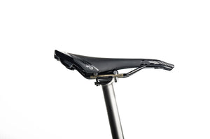 Titanium Bicycle Seatpost with Carbon Fiber Rail (165g) - Kelson Bikes