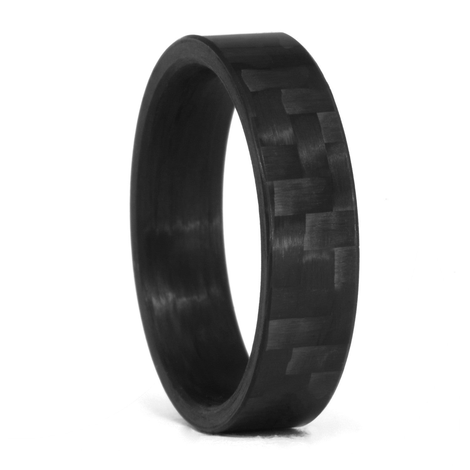 zoom inlay wedding cobalt carbon ring chrome diamond black rings loading white band fiber
