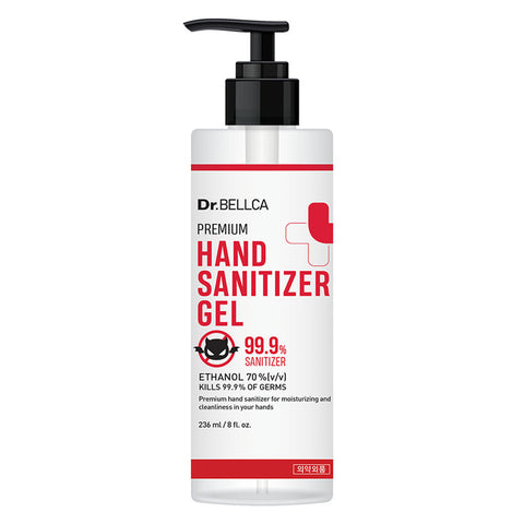 Dr.BELLCA Premium Hand Sanitizer Gel 236 ml
