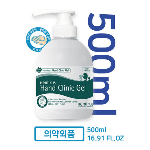 HEMIRUS Hand Clinic Gel 500 ml