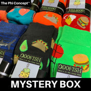 The Phi Concept™ Crew Sock 5 Pack Mystery Box - The Phi Concept