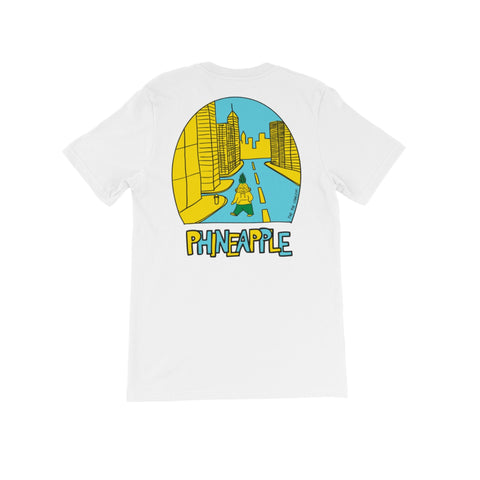 PHINEAPPLE City White T-Shirt - The Phi Concept