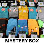 The Phi Concept™ Crew Sock 10 Pack Mystery Box - The Phi Concept