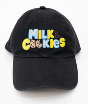 Milk & Cookies Embroidered Dad Hat - The Phi Concept