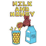 Milk & Honey Bear Black T-Shirt - The Phi Concept