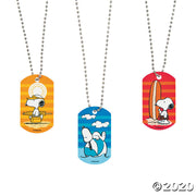 Peanuts® Summer Metal Dog Tag Necklaces - 3 Pack - The Phi Concept