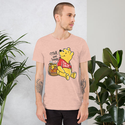 Winnie Milk & Honey Peach T-Shirt - The Phi Concept
