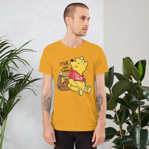 Winnie Milk & Honey Gold T-Shirt - The Phi Concept