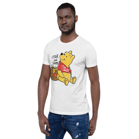 Winnie Milk & Honey  White T-Shirt - The Phi Concept