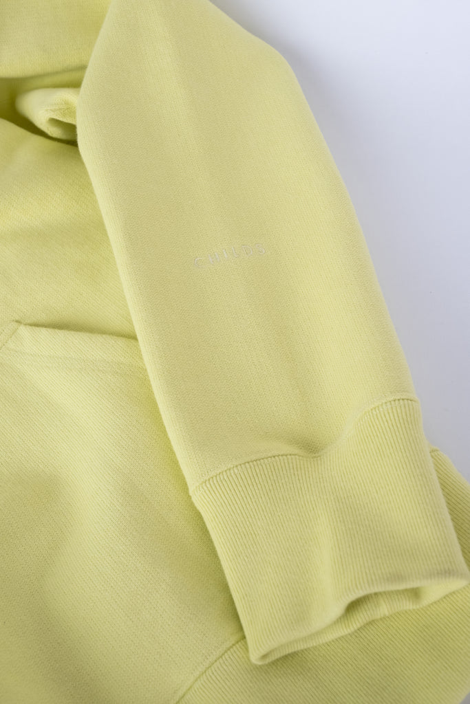 embroidered hoodie sweatshirt sunny lime