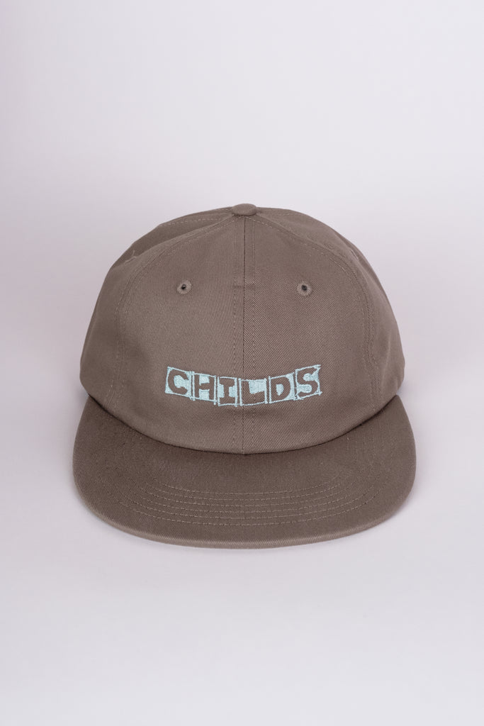 6-panel embroidered hat cedar