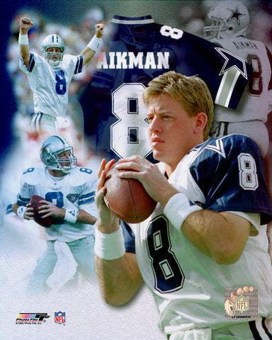 Troy Aikman NFL Portrait Photo