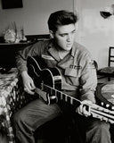 Elvis Presley (wearing US Army jacket) Photo