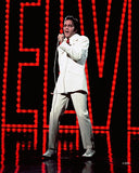 Elvis Presley (wearing white suit) Photo