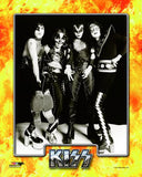 KISS - B/W Posed (Paul Stanley, Peter Criss, Gene Simmons, & Ace Frehley)