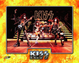 KISS - On Stage (Gene Simmons, Ace Frehley, Peter Criss, & Paul Stanley) Photo