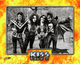 KISS - B/W Posed Photo