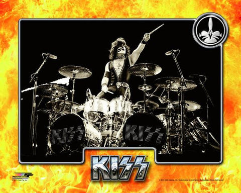 KISS - Eric Singer Photo