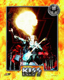 KISS - Gene Simmons (blowing fire) Photo