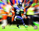 Marshawn Lynch NFL Motion Blast Photo