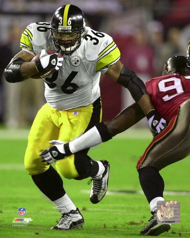 Jerome Bettis 2002 Action