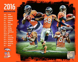 Denver Broncos 2016 Team