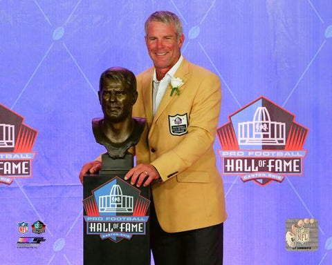 Brett Favre 2016 NFL Hall of Fame Induction Ceremony