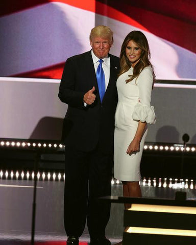Donald Trump and his wife, Melania Trump, during the Republican National Convention 7/18/2016 #2