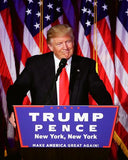 Donald Trump gives his acceptance speech at his election night event 11/9/2016 in New York City #1