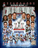 New England Patriots - Super Bowl 51 Champions Composite