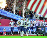 New England Patriots team introduction - Super Bowl 51 Photo