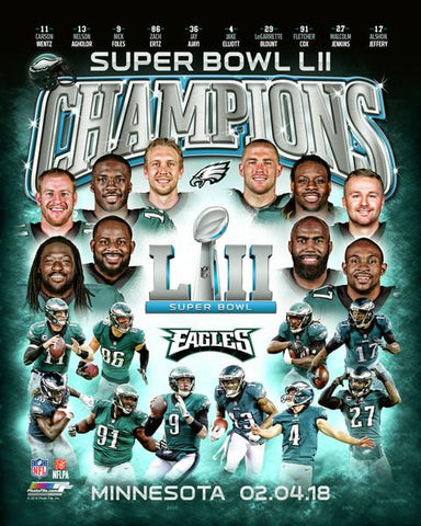 Philadelphia Eagles Super Bowl LII Champions Composite