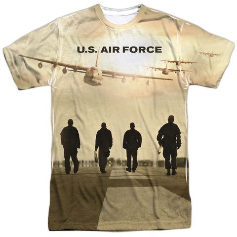 US Air Force - Long Walk T-Shirt - Societee Norms - 1