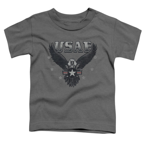 AIR FORCE/INCOMING-S/S TODDLER TEE-CHARCOAL-SM(2T) T-Shirt - Societee Norms