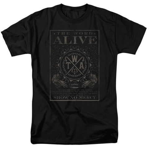 The Word Alive - Show No Mercy T-Shirt - Societee Norms - 1