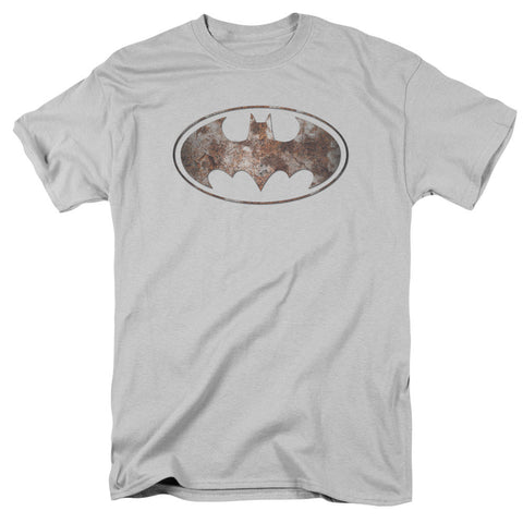 BATMAN - HEAVY RUST LOGO
